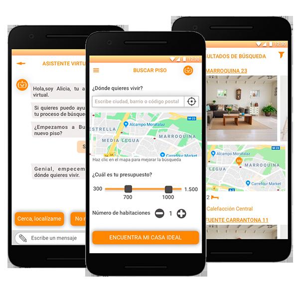 Diseño app para el sector inmobiliario