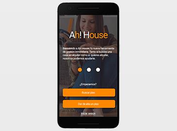 Diseño de app sector inmobiliario