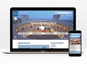 Página web de turismo de Palma