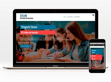 Web proyecto STEAM