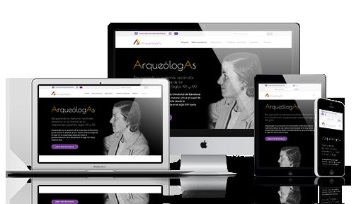 Mock Up web ArqueólogAs