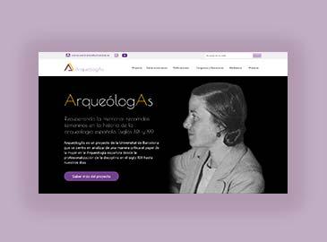 Diseño website proyecto universitario