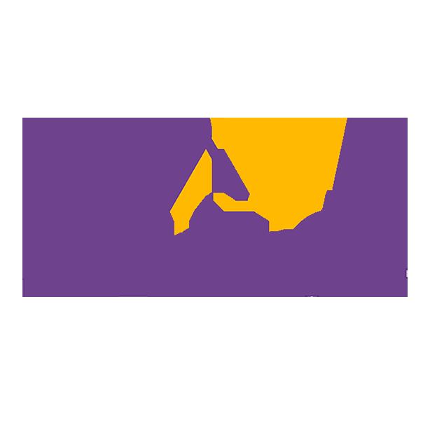 Logotipo vertical ArqueólogAs - proyecto universitario