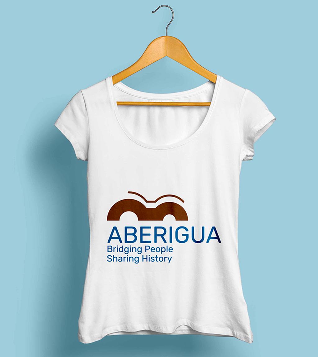 Logo Aberigua camiseta