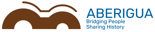 Logo Aberigua, versión horizontal